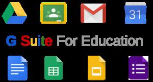 Logo piattaforma G Suite